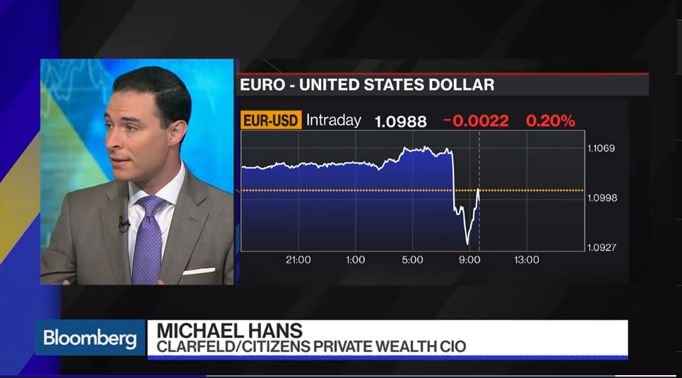 Michael Hans Joins Bloomberg Markets: The Open to Discuss The European Central Bank's Latest Rate Decision